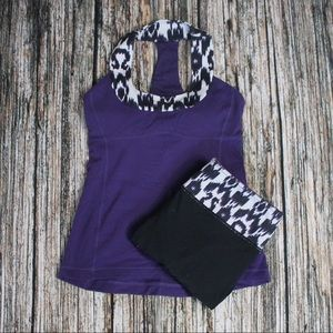 Rare Lululemon Scoop Me Up Purple Tank Size 6